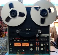 """OTARI - MX55 ,Vintage Reel To Reel High End Recorder"" !...  http://about.me/Samissomar"
