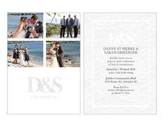 wedding invitation Wedding Invitations, Graphics, Celebrities, Graphic Design, Celebs, Wedding Invitation Cards, Wedding Stationery, Wedding Invitation, Wedding Invitation Suite