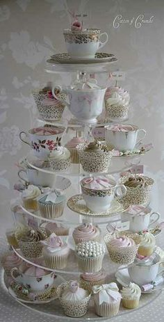 tea party bridal shower...so cute!