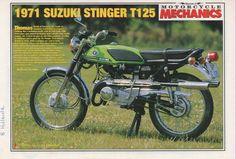 1971 SUZUKI T125 STINGER