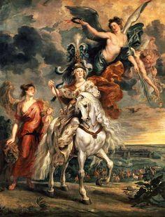"""""""Die Einnahme von Jülich am 1. September"""" (1610) von Peter Paul Rubens (geboren am 28. Juni 1577 in Siegen, gestorben am 30. Mai 1640 in Antwerpen), flämischer Barockmaler und Diplomat der spanisch-habsburgischen Krone."""