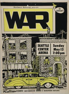 Seattle Concert Posters