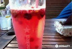 Erdei gyümölcsös limonádé Pudding, Drinks, Food, Drinking, Beverages, Custard Pudding, Essen, Puddings, Drink