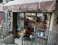 Alice's Tea Cup! Alices Tea Cup, Outdoor Cafe, Tea Tray, High Tea, Soul Food, Decoration, Tea Pots, New York, Kettles
