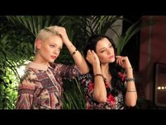 Backstage WE POSITIVE Bracelets and...Bags!!! SS 2016 - YouTube