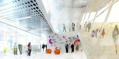 ArchGate: BIG architects + OFF architecture: paris parc @designboom #France #paris