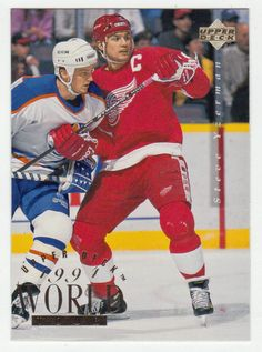 Steve Yzerman # 550 - 1994-95 Upper Deck Hockey
