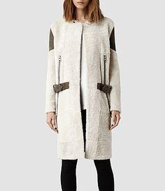 Purrr ... Allsaints Sheepskin Coat