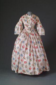 Day dress, 1837-40, Mode Museum