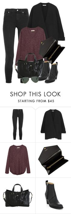"""""""Untitled #2309"""" by erinforde ❤ liked on Polyvore featuring мода, Madewell, Yves Saint Laurent, Mulberry, Acne Studios, Ray-Ban, women's clothing, women's fashion, women и female"""