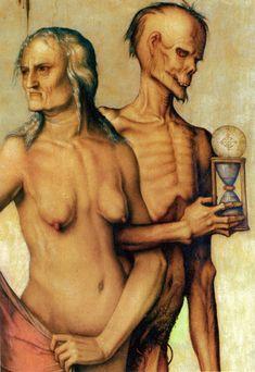 Hans Baldung Grien - Les trois âges et la mort 1440