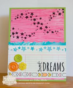 Plum Poppy Studio: Sweet Dreams : Market Street Stamps