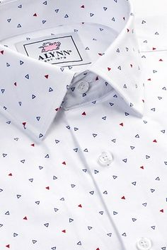 Shop for the Percy White Classic Fit Untuckable Dress Shirt, a White Cotton Classic Fit Untuckable Dress Shirt by Alynn. Mens Casual Dress Outfits, Formal Men Outfit, Gents Shirts, Polo T Shirts, Simple Shirts, Casual Shirts, Mode Polo, Mens Printed Shirts, White Shirt Men