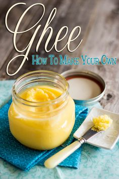 Homemade Organic Ghee | by Sonia! The Healthy Foodie. This is a great step-by-step, with pictures, recipe to follow. My ghee looks wonderful, and is cooling now.