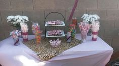 Small candy buffet