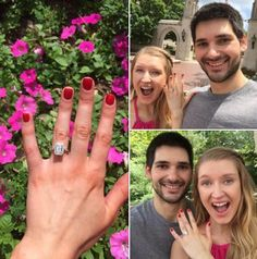 Whoohoo!!! Chris and Leah are engaged!!! Congratulations!!