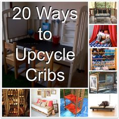 Strict resale guidelines leave any with cribs they can't sell. The Consignment Sale Queen©: Upcycle Series: Crib Crib Makeover, Furniture Makeover, Furniture Projects, Diy Furniture, Diy Projects, Antique Furniture, Project Ideas, Bedroom Furniture, Painted Furniture