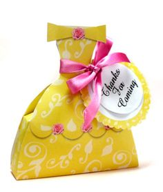 PDF Princess Belle Dress Printable Box Beauty and the by marlicg. $3.99, via Etsy.