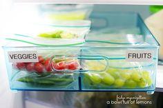 pre package healthy snacks for kids (bowl full of lemons)