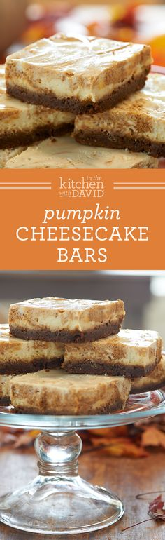 Pumpkin Cheesecake Bars                                                                                                                                                                                 More