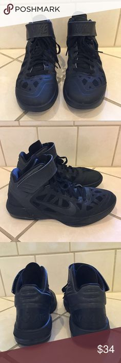 d9c42451 NIKE Hyperfuse Black Basketball Shoes Nike Air Max Fly by Hyperfuse Black  Basketball Shoes Shoes are