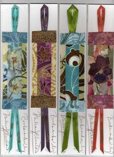 handmade bookmarks Bookmarks - Marcapáginas - Puntos de libro