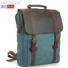 Resultado de imagen para mochila de cuero vintage
