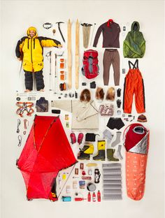Todd Mclellan Motion/Stills Inc. Image Photography, Creative Photography, Editorial Photography, Outside Magazine, Exploded View, Fotografia Macro, Lewis And Clark, What In My Bag, Outdoor Fashion