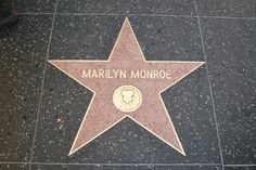 http://www.TravelPod.com - Hollywood Blvd & Marilyn Monroe Star by TravelPod member Panf007, from Los Angeles, United States ... Marilyn Monroe Star on the Hollywood Blvd.