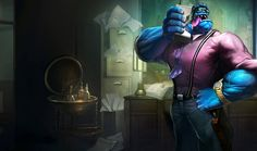 Mundo/SkinsTrivia - League of Legends Wiki - Champions, Items, Strategies, and many more! Lol League Of Legends, Starcraft, Dr Mundo, Fantasy Online, Character Art, Character Design, Teen World, Online Battle, Playing Doctor