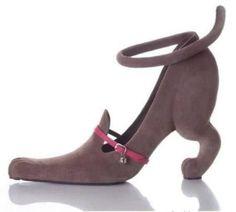Crazy cat lady shoes !