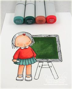 So you think you know how to color? Very cool Coloring Tutorials (more reasons to covet copics)
