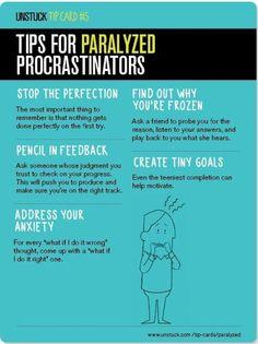 Tips for Procrastinators - #Tips