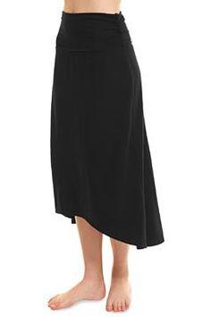 Organic High-Low Skirt