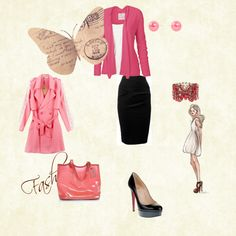 Business As Usual, created by lorr669 on Polyvore