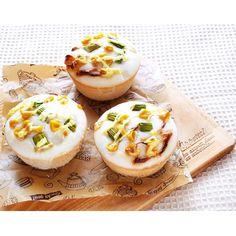 クミタス レシピ マフィン型で米粉のプチ惣菜パン(卵、乳、小麦、大豆、ごま不使用)