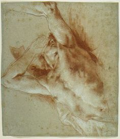 Giovanni Battista Tiepolo A Falling Figure / Italy, Red and white chalk on faded blue paper 10 x 12 in. x cm) Guy Drawing, Figure Drawing, Drawing Reference, White Chalk, Save Image, Yahoo Images, Image Search, Drawings, Artwork
