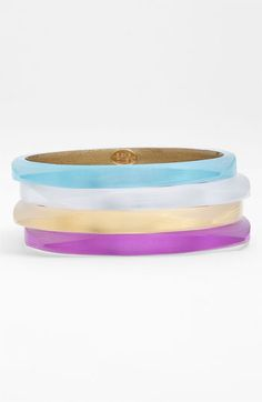 Alexis Bittar 'Lucite®' Skinny Square Bangle available at #Nordstrom
