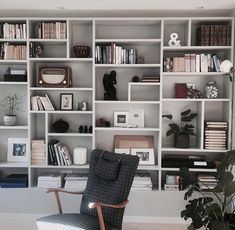 Urban Interior Design, Custom Shelving, Large Shelves, Diy Home Repair, Piece A Vivre, Home Trends, Office Interiors, Home Bedroom, Home Projects