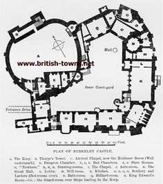 Medieval Castle Floor Plans Floorplan for the Keep and