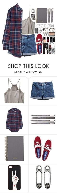 """""""The lips you taste"""" by shibusai ❤ liked on Polyvore featuring Madewell, Monki, H&M, Band of Outsiders, Mulberry, Keds, BOBBY and Chanel"""