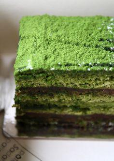 Gâteau au matcha (Sadaharu Aoki)