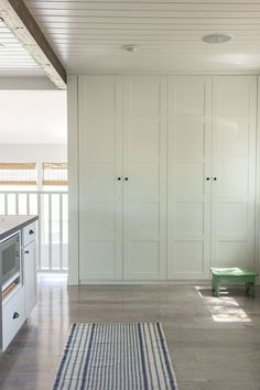 Ikea Pantry, Ikea Kitchen Cabinets, Built In Cabinets, Ikea Storage Cabinets, Built In Dresser, Pantry Cabinets, Pantry Doors, Kitchen Dining, Closet Built Ins