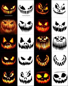 290 Free Printable Halloween Pumpkin Carving Stencils Patterns Designs Faces Ideas 10 Free Scary Halloween Pumpkin Carving Stencils Patterns Amp Ideas 2018 Jack O Lantern Faces Amp Images Halloween Pumpkin Carving Stencils, Scary Pumpkin Carving, Pumpkin Carving Templates, Carving Pumpkins, Printable Halloween, Halloween Tags, Halloween Pumpkin Makeup, Scary Pumpkin Faces, Scary Halloween Pumpkins