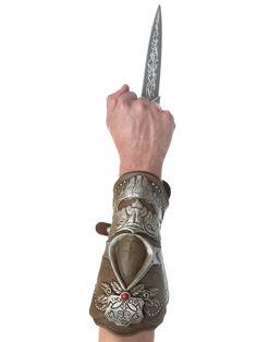 Palamon Mens Assassins Creed Ezio Bladed Gauntlet Costume