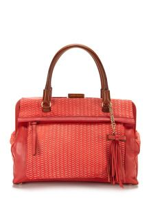 Embossed Satchel by Nanette Lepore at Gilt