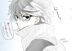 Aoharu x Kikanjuu/Tokyo Ghoul Kaneki, Aoharu X Machinegun, Manga, Ao Haru, Dark Anime, Fujoshi, Tokyo Ghoul, Designs To Draw, Asian Art
