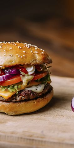 Check out our fancy Chili cheese burger, make your own gourmet one to impress even the fussiest burger lover!