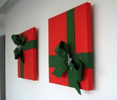 Simple Ideas Christmas Wall Decoration Ideas Diy Christmas Wall Decor Ideas Adding Holiday Cheers To Your - adventure and living Noel Christmas, Simple Christmas, Winter Christmas, Outdoor Christmas, Christmas Pizza, Christmas Music, Christmas Wishes, Christmas Projects, Christmas Crafts
