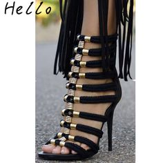 Cheap sandals black, Buy Quality women gladiator sandals directly from China ladies sandals Suppliers: Summe Sandals 2017 Women Gladiators Sandals European Style High Heels Peep Toe Sexy Heels Ladies Sandals Black Women's Sandals